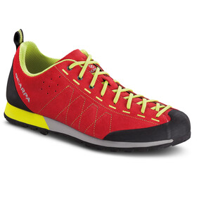 Scarpa Highball Schoenen Heren, tomato/yellow